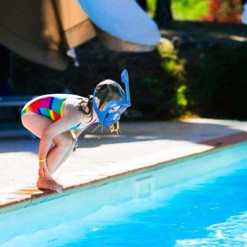 Schnorchelmask für Kinder von Unigear