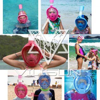 Schnorchelmaske für Kinder von Vilisun