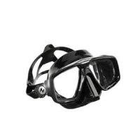 taucherbrille schwarzes silikon